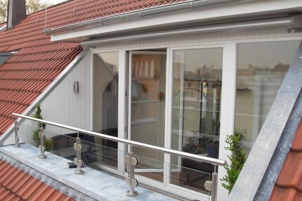 errichtung einer speziellen dachgaube in wentorf harms. Black Bedroom Furniture Sets. Home Design Ideas