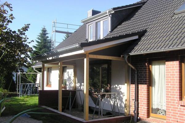 dachumdeckung eines einfamilienhauses harms und k ster bau gmbh. Black Bedroom Furniture Sets. Home Design Ideas