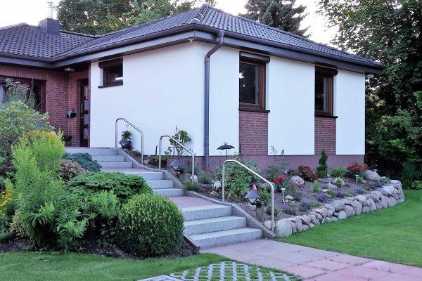 anbau an eine bungalow in hamburg harms und k ster bau gmbh. Black Bedroom Furniture Sets. Home Design Ideas